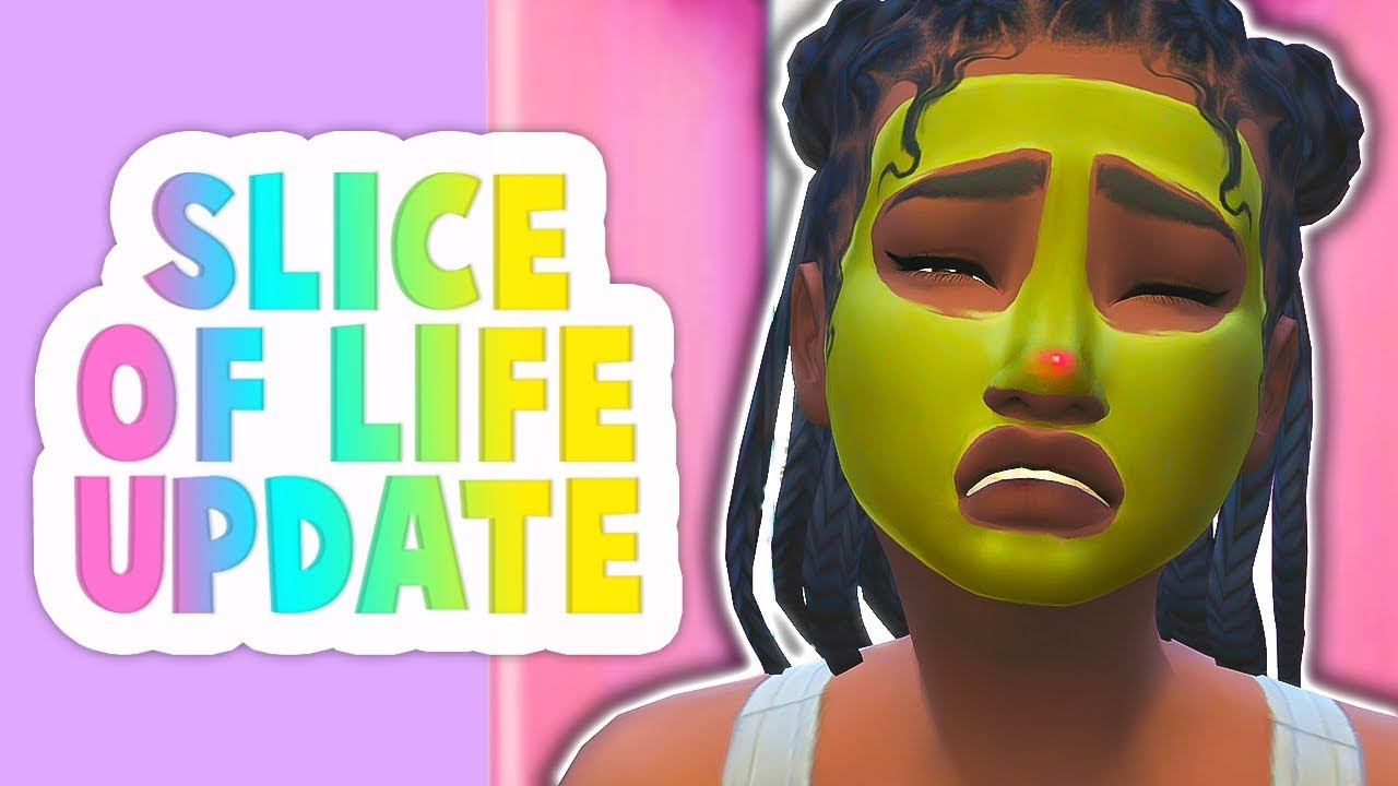 REALISTIC ACNE, SKIN CARE ROUTINES, 21 NPC EVENTS // THE SIMS 4 | SLICE OF  LIFE MOD UPDATE!