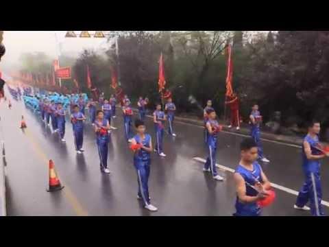 10th Zhengzhou International Shaolin Wushu Festival - Kung Fu Parade