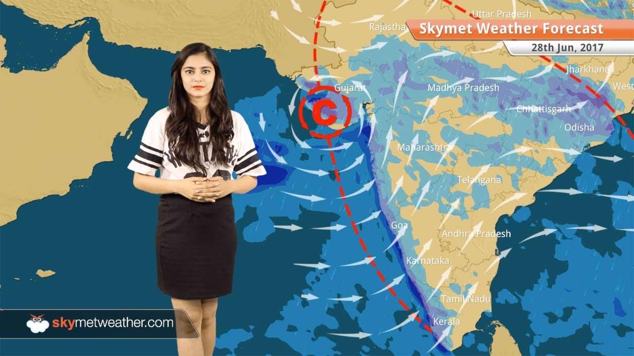 Weather Forecast for Jun 28: Monsoon rains over Delhi, U P, Coastal  Karnataka, Konkan and Goa