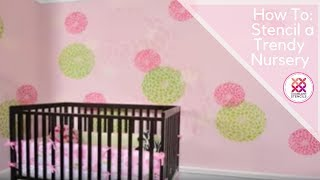 Stencils: Learn How to Stencil by Cutting Edge Stencils. Wall stencils for DIY decor.