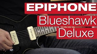 Epiphone Blueshawk Deluxe TB - session review