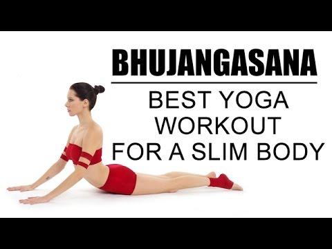 best yoga workout for a slim body  bhujangasana  youtube