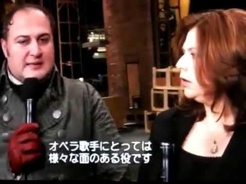 0725 Susan Graham interviews George Gagnidze -  TOSCA