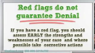 Red Flags causing K1 Fiance Visa Denial K1 Faq #31