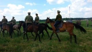 Реконструкция гражданской войны в деревне Душеново