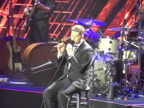 Michael Buble Close Your Eyes o2 Arena