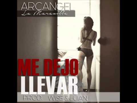 Me Dejo Llevar - Arcangel (Letra) (Audio Original) (14F) (Video Liryc)