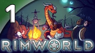 Rimworld Alpha 16 [Modded] - 1. Real Consequences - Let's Play Rimworld Gameplay