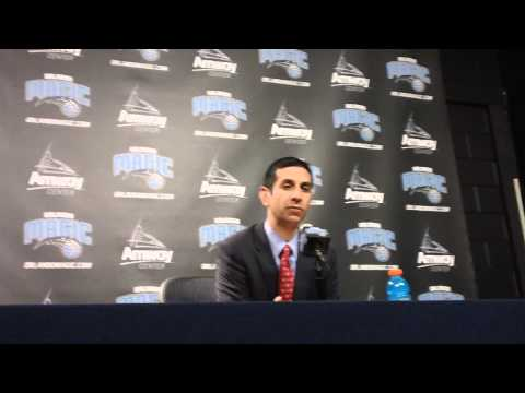 James Borrego Sacramento Kings Postgame Interview