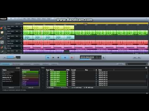 Magix music maker 2013 hip hop song