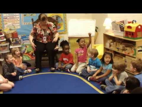 """2013 Pre-K class sings """"Zillaby Zallaby (Naming Song);"""" Mulberry Creek Elementary School"""