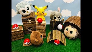 BAJKA GANG SŁODZIAKÓW || Detektyw Pikachu i Pokemony