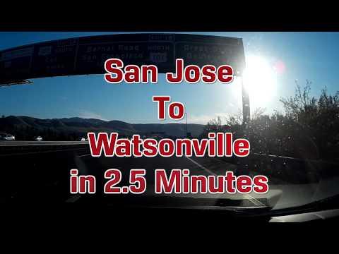 San Jose To Watsonville In 2.5 Minutes