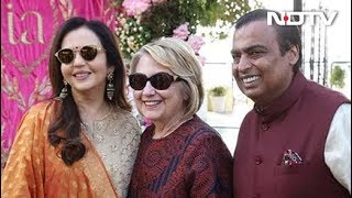 Hillary Clinton In Udaipur For Isha Ambani's Pre-Wedding Party