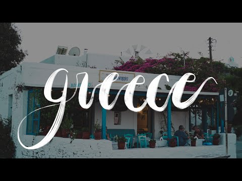 Greece 2017 🌊 || Island hopping on the cyclades || Carriena