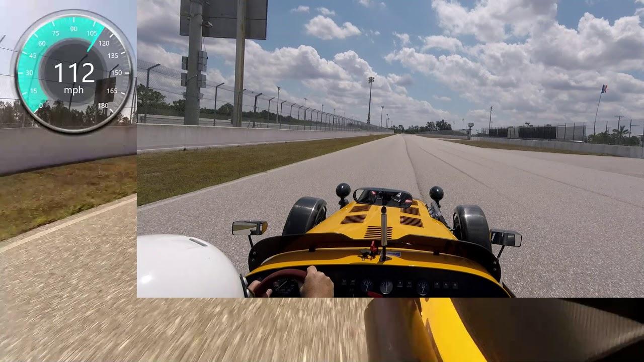 Caterham At West Palm Beach Raceway