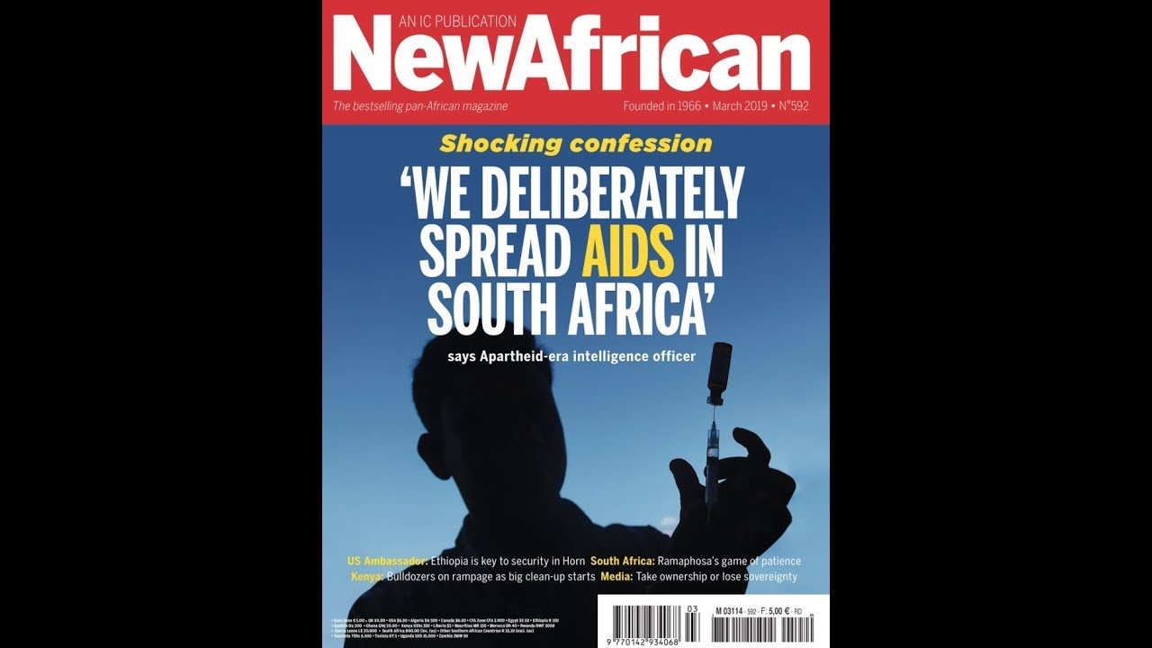 Caucasian admits they purposely spread AIDS in Africa