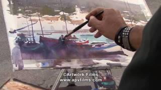 Inspired Watercolour: Alvaro Castagnet