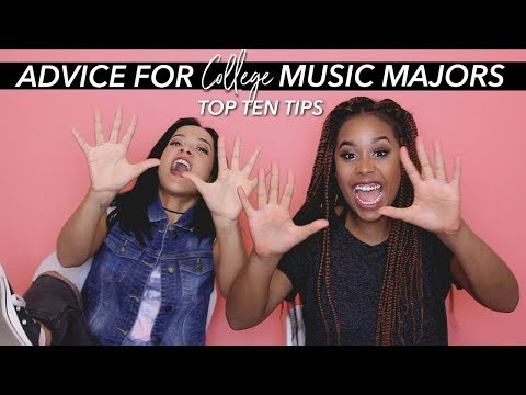 Advice for College Music Majors  Top Ten Tips
