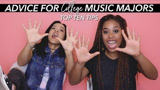 Advice for College Music Majors - Top Ten Tips