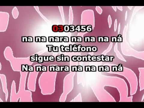 03 03 456 (con letra) - Rafaela Carrá (Karaoke)