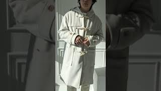 캐주얼 남자 더플 떡볶이 코트 코디
