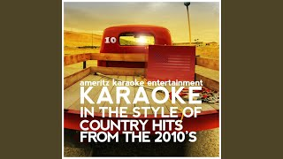 The One That Got Away (In the Style of Jake Owen) (Karaoke Version)