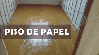 Piso de papel Craft – Uma alternativa para renovar ou reformar pisos