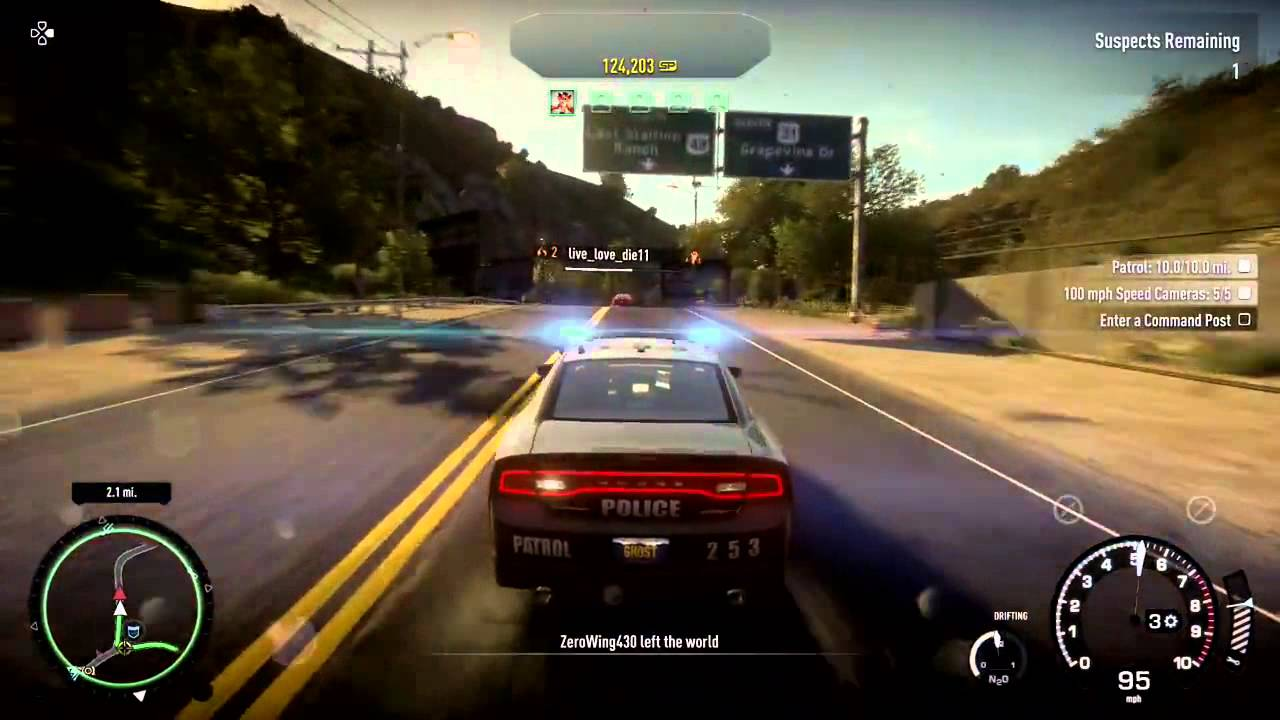 need for speed rivals ps4 police chase youtube. Black Bedroom Furniture Sets. Home Design Ideas