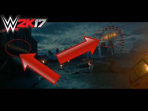 WHAT YOU MISSED DURING THE WWE 2K17 COVER REVEAL TRAILER! WWE 2K17 COVER REVEAL TRAILER EASTER EGGS!