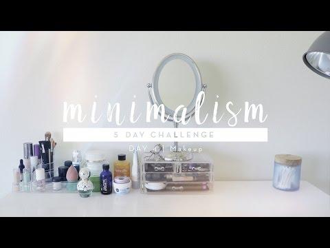 Minimalism Challenge Day 4: Makeup | #5DaystoMinimalism