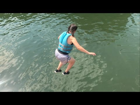 Cliff Jumping at Clear Creek 2017