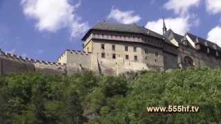 Поездка в Замок Карлштейн.(На сайте www.555hf.tv (интернет-телевидение) Вы можете посмотреть эту передачу полностью онлайн бесплатно. Смотр..., 2014-09-08T07:06:42.000Z)