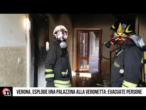 Verona, fa esplodere la casa e resta ustionato: altri cinque feriti