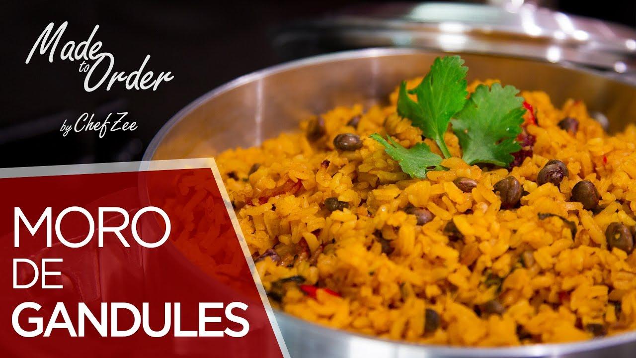 Rice with Beans (Moro de Habichuelas)