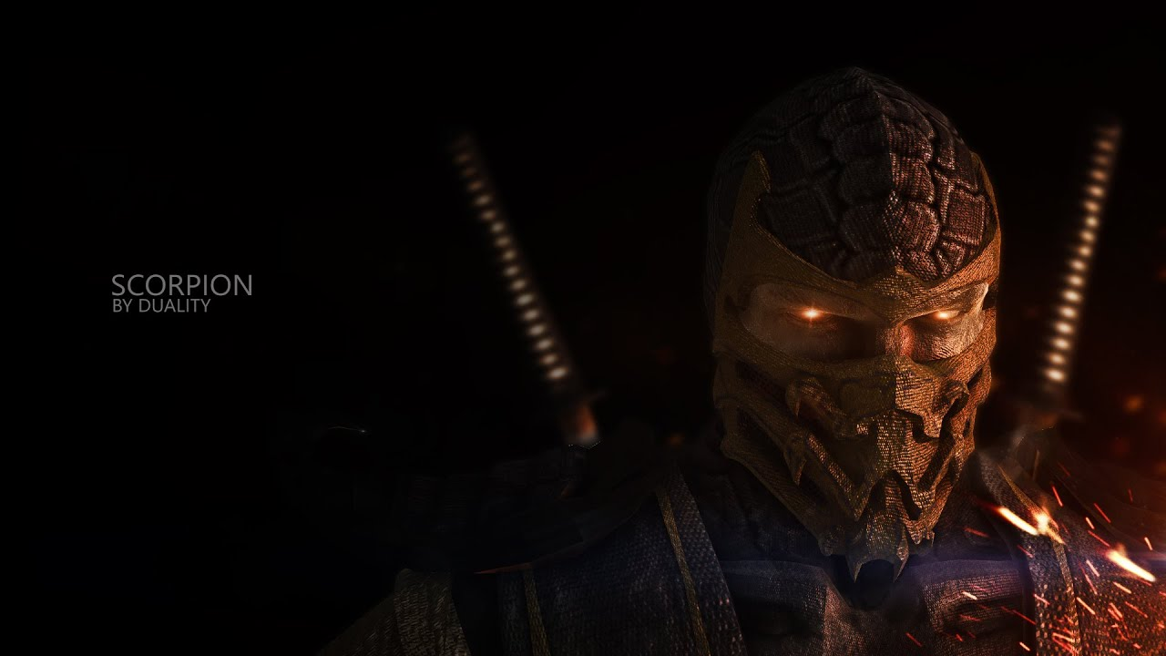 "scorpion"" mortal kombat editduality (wallpaper in desc) - youtube"