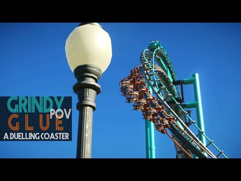 POV Grindy Glue - Duelling Coaster concept (POV) - Planet Coaster / like Wanda Guangzhou