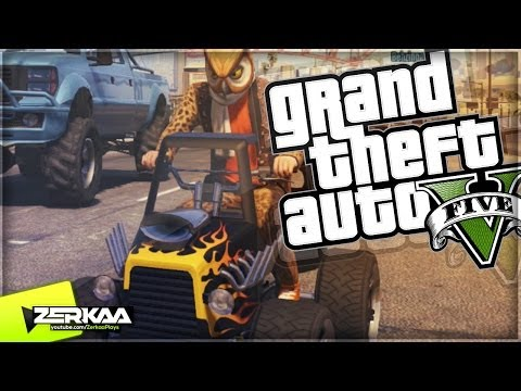"GTA 5 Funny Moments | ""THE HIPSTER DLC BLAZER"" | E214 (GTA V Online)"