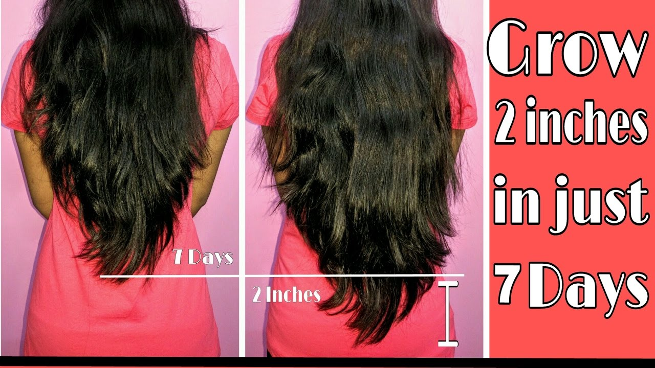 Grow 2 inches in 7 days | Indian Hair Growth Secret | how to grow hair faster ? - YouTube