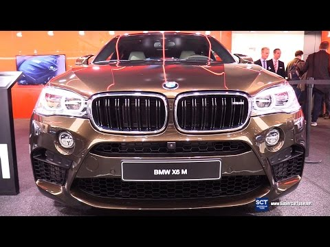 2017 BMW X6 M  Individual - Exterior and Interior Walkaround - 2017 Detroit Auto Show