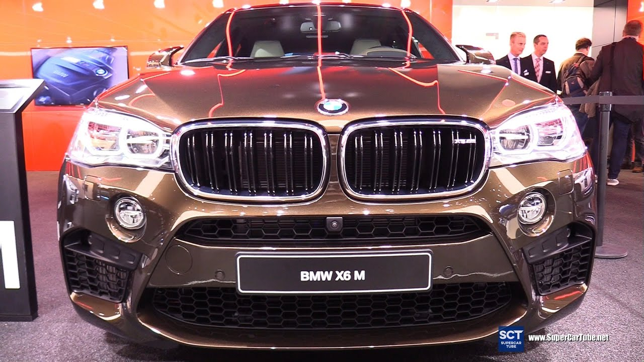 2017 Bmw X6 M Individual Exterior And Interior Walkaround Detroit Auto Show You