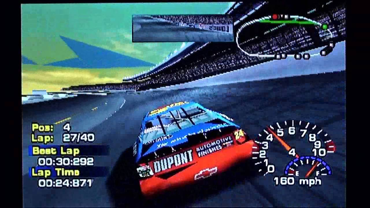 Paint schemes coca cola 600 free download image about all car type - Nascar Thunder 2002 Ps1 Race 13 41 Coca Cola 600