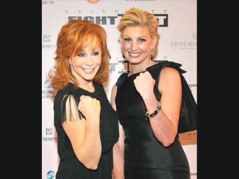 Faith Hill & Reba McEntire-Sleeping With The Telephone (Lyrics)