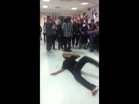 TNT Dancing At Lunch At Bristol Eastern High School