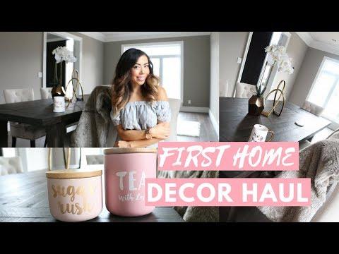 HUGE HOME DECOR HAUL 2017!🏡💕FOR OUR NEW HOUSE!🏡💕-SLMissGlam