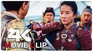 Mulan Training Fight Scene - Lower Your Sword   MULAN (NEW 2020) Movie CLIP 4K