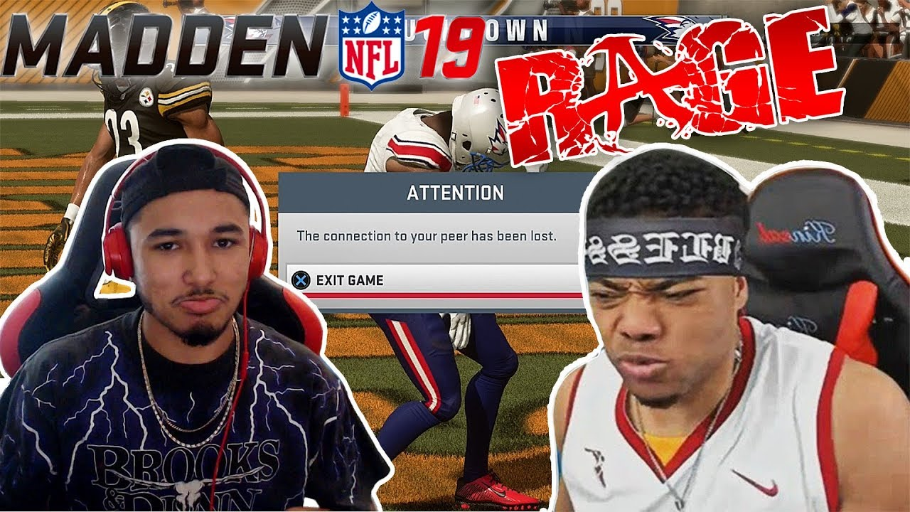 MADE HIM RAGE QUIT TWICE!!! THE GOD SQUAD #1 (Madden 19 Ultimate Team Gameplay)