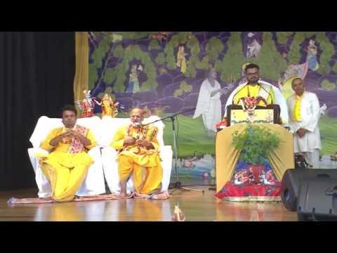 LONDON DAY 1 SHRIMAD BHAGWAT KATHA BY P.P 108 GOSWAMI SHRI GOVARDHANESHJI MAHODAYSHRI