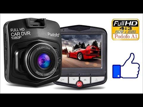 Хороший бюджетный видеорегистратор ▶️ Podofo A1 Mini - с алиэкспресса. (ПРИМЕРЫ ЗАПИСИ НОЧЬЮ И ДНЁМ)