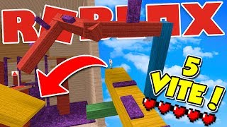 Roblox ITA - Can you COMPLETE this MAP with 5 VITE??